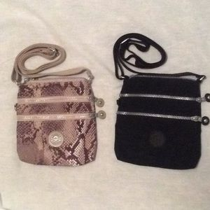 2 Kilpling Small Bag with Adjustable Strap